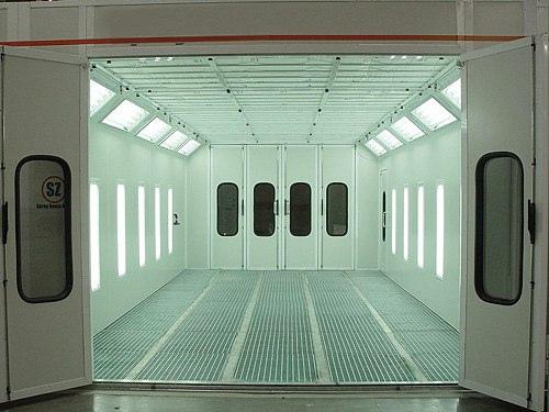 cabinas de pintura grating cbmetal