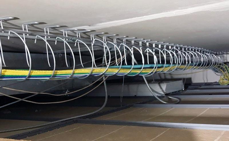 bandejas portacables gestión de cables cbmetal