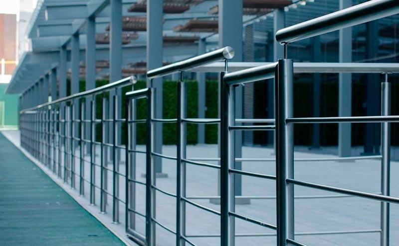 escoger acero barandas de seguridad cb metal